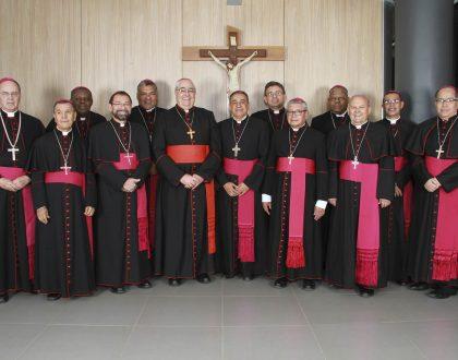 Invitación a la misa con los obispos panameños