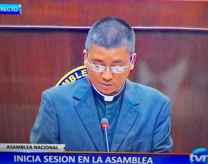 Invocación religiosa del Señor Arzobispo de Panamá - Asamblea Nacional