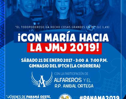 "Una gran fiesta espiritual  ""RUMBO A LA JMJ PANAMÁ 2019"""