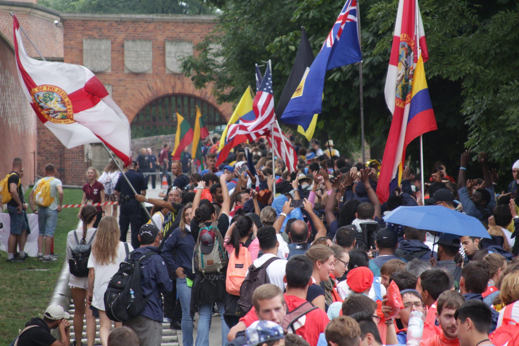 Panamá en sintonía con juventud centroamericana, mexicana y caribeña en Roma