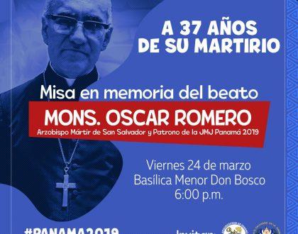 Aniversario del Martirio del Beato Oscar Romero, Obispo