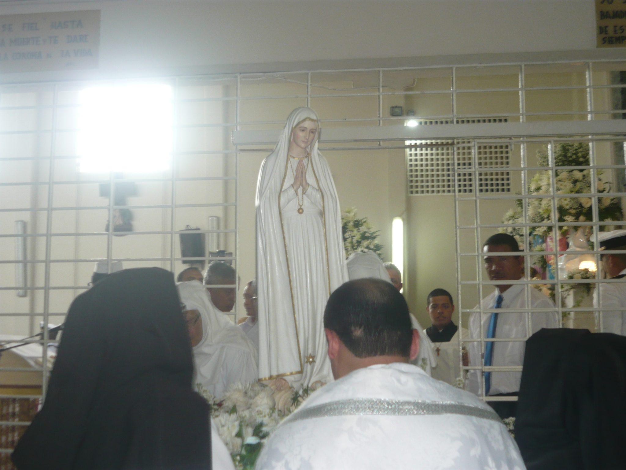 Llegada de la Virgen al Monasterio de la Visitación