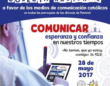 Colecta nacional a favor de los medios de comunicación católicos