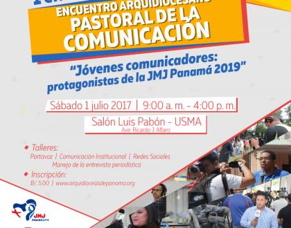 La Arquidiócesis de Panamá realiza su Primer Encuentro de la Pastoral de Comunicación