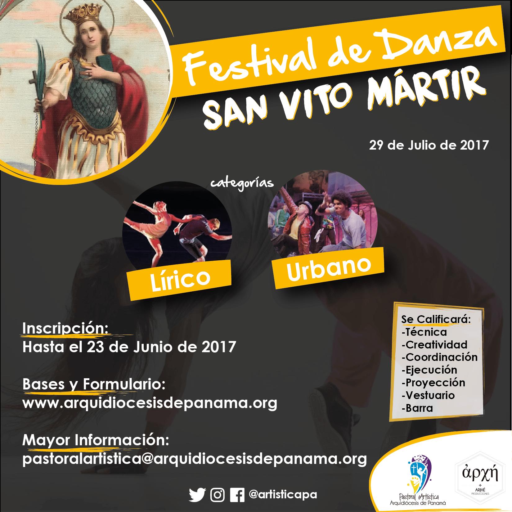 Festival De Danza - San Vito Mártir