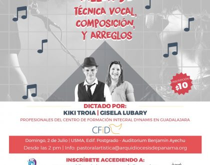 Taller de Composición, Arreglo Musical y Técnicas de Canto