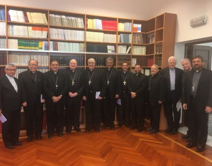 Obispos Panameños en visita Ad Limina