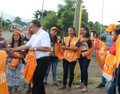 Calles tomadas por la Ola Naranja de la Campaña Arquidiocesana