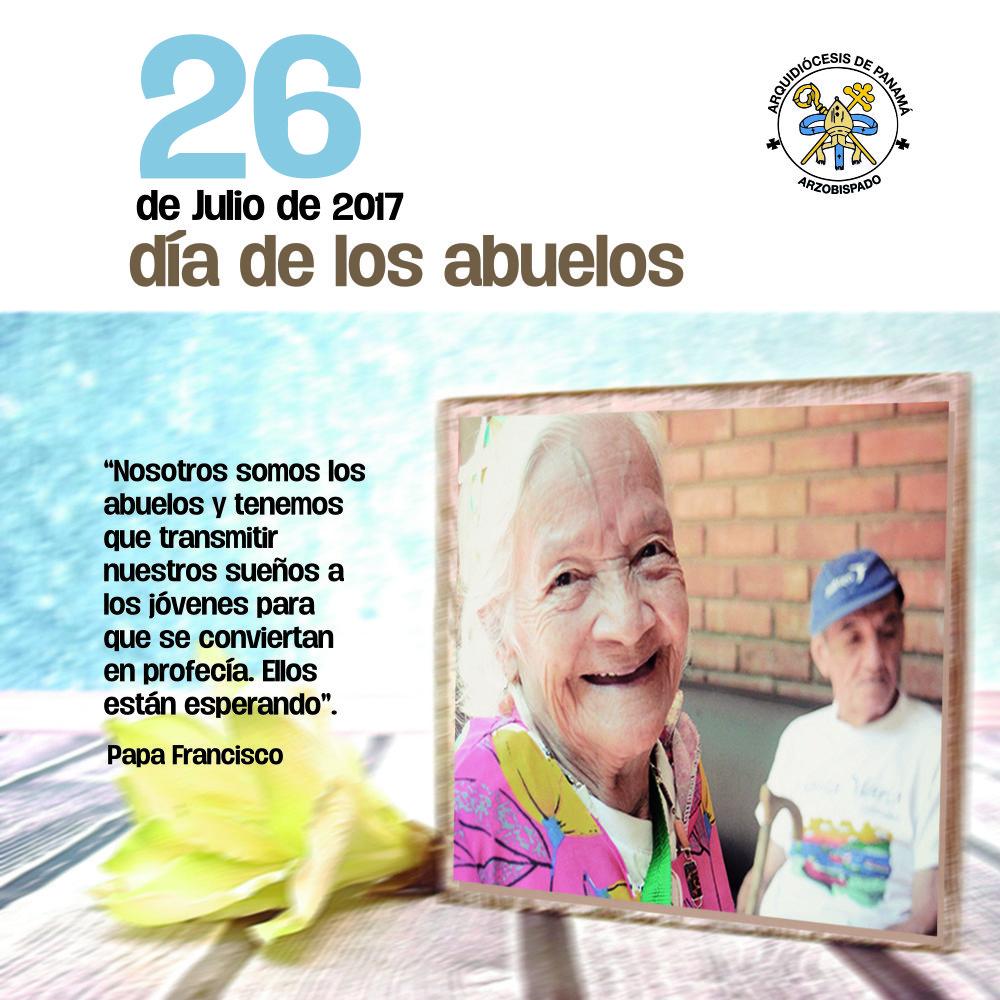 Mensaje del Arzobispo de Panamá en el día de los abuelos