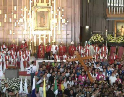 La Cruz y el Icono de la Virgen irán  hacia la juventud mexicana en sufrimiento
