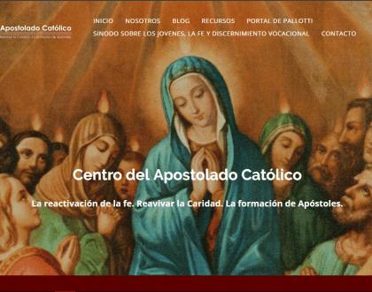 El Centro del Apostolado Católico renueva su portal web