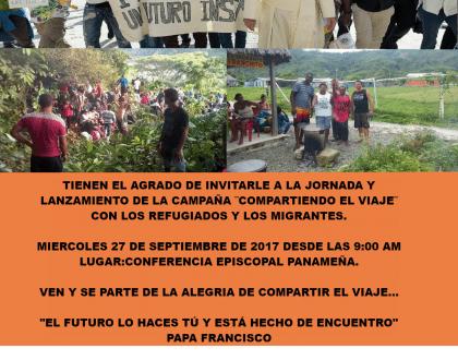 Invitación al Lanzamiento de la Campaña de Migrantes y Refugiados #ShareJourney