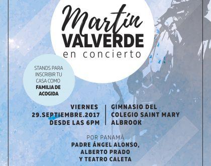 ¿Una nueva oportunidad? Concierto Católico con Martín Valverde en Panamá