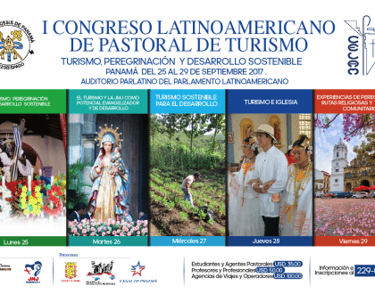 Inauguración del primer congreso Latinoamericano de Pastoral de Turismo