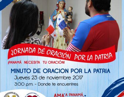 Jornada de Oración por la Patria