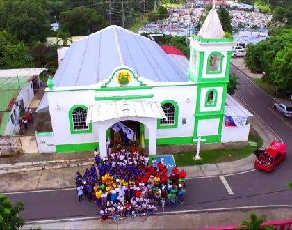 Construcción del nuevo templo parroquial de San Isidro Labrador en Capira