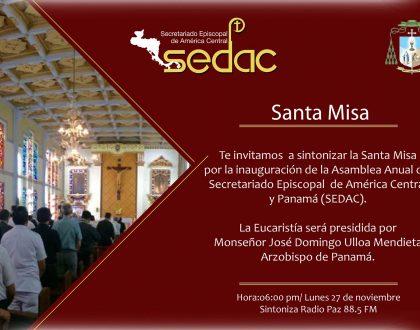 Obispos panameños viajan a El Salvador para asamblea y aniversario del SEDAC