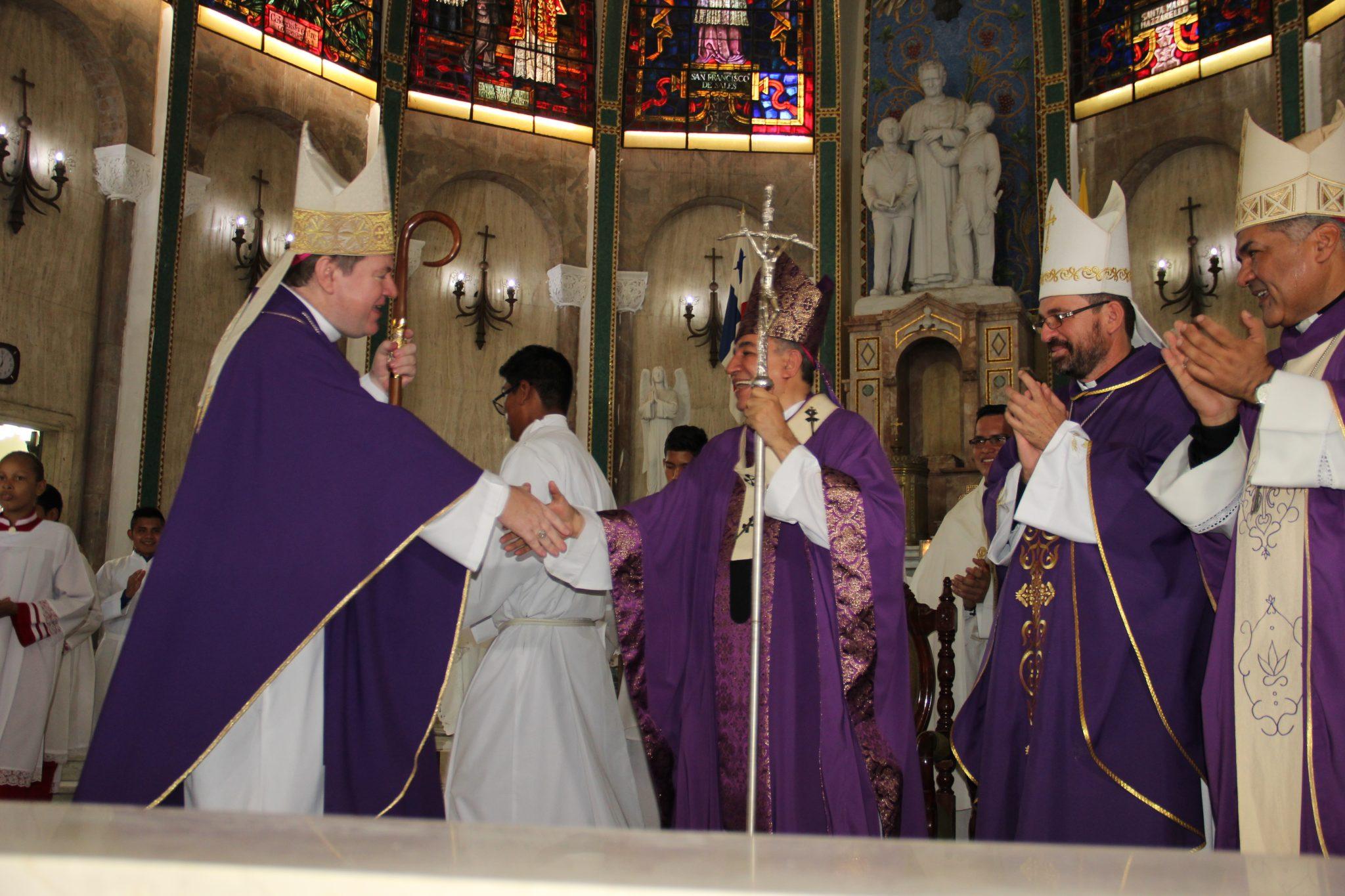 Presentación del Nuevo Nuncio