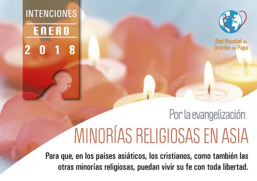 Intención de la oración - Enero 2018
