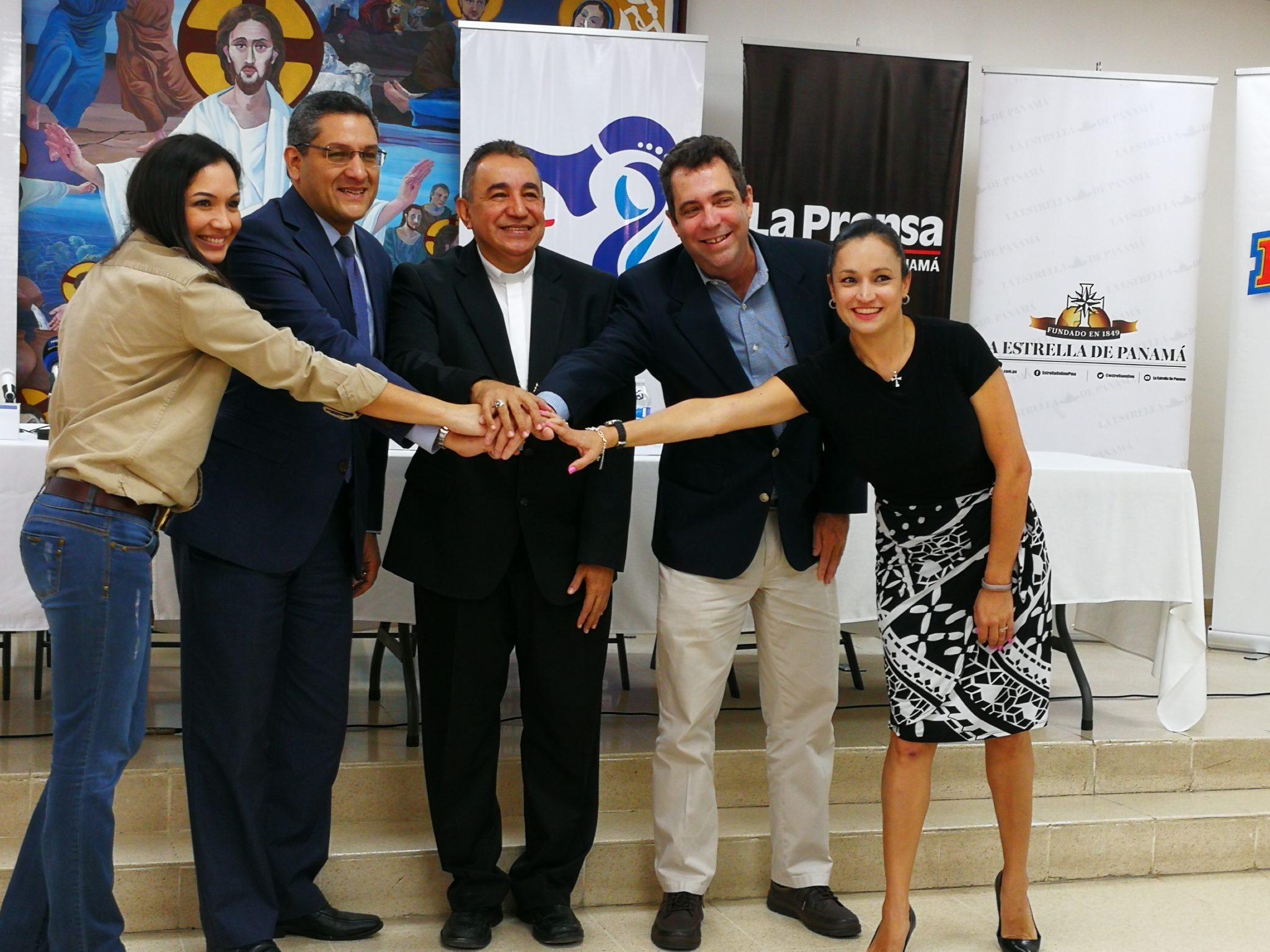 Diarios de circulación nacional oficializan apoyo a la JMJ Panamá