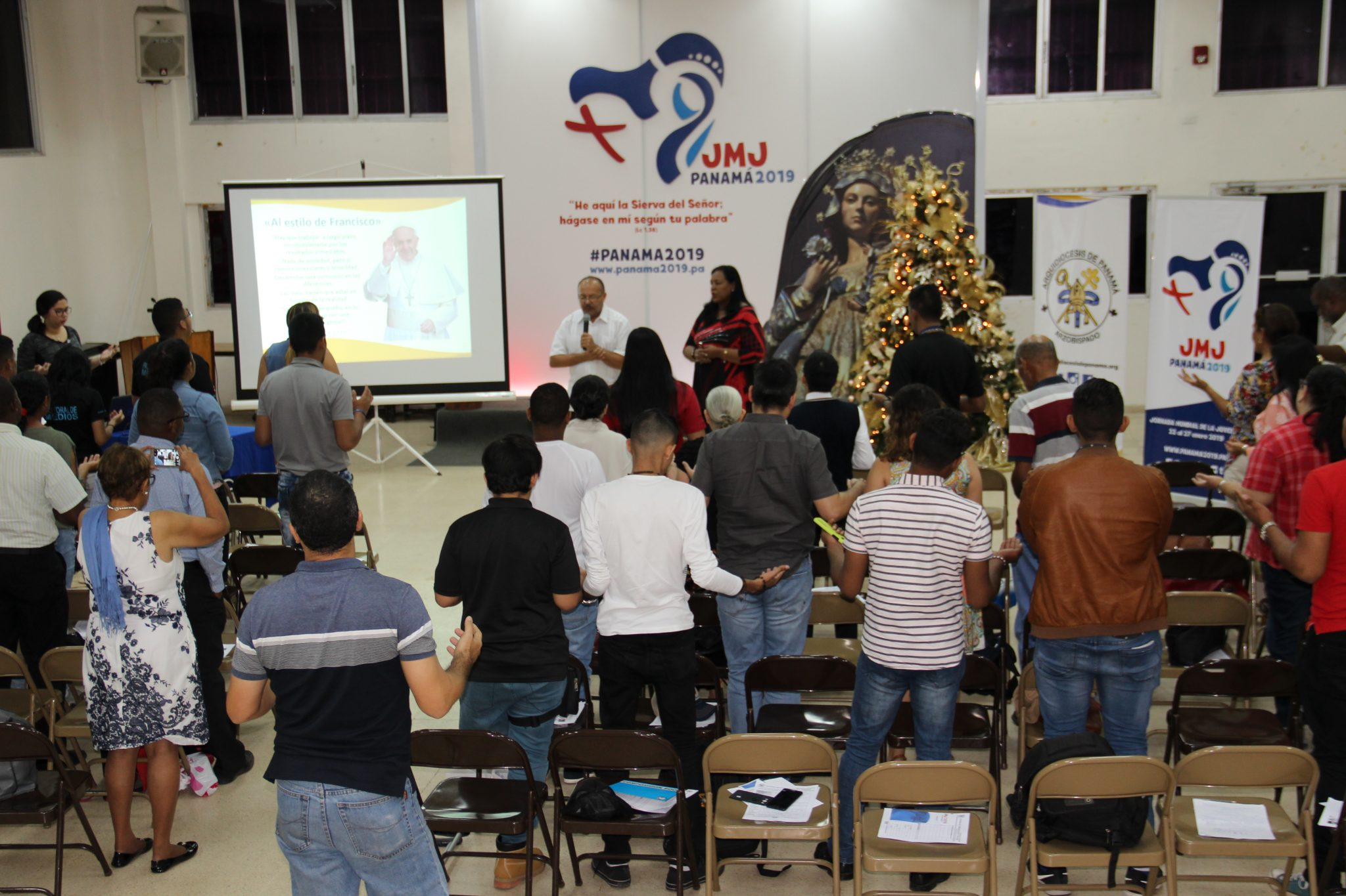 Con la creatividad de la juventud se  puede presentar el evangelio
