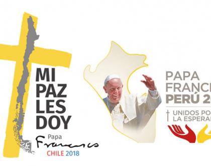 Transmisión del Papa en Chile y Perú
