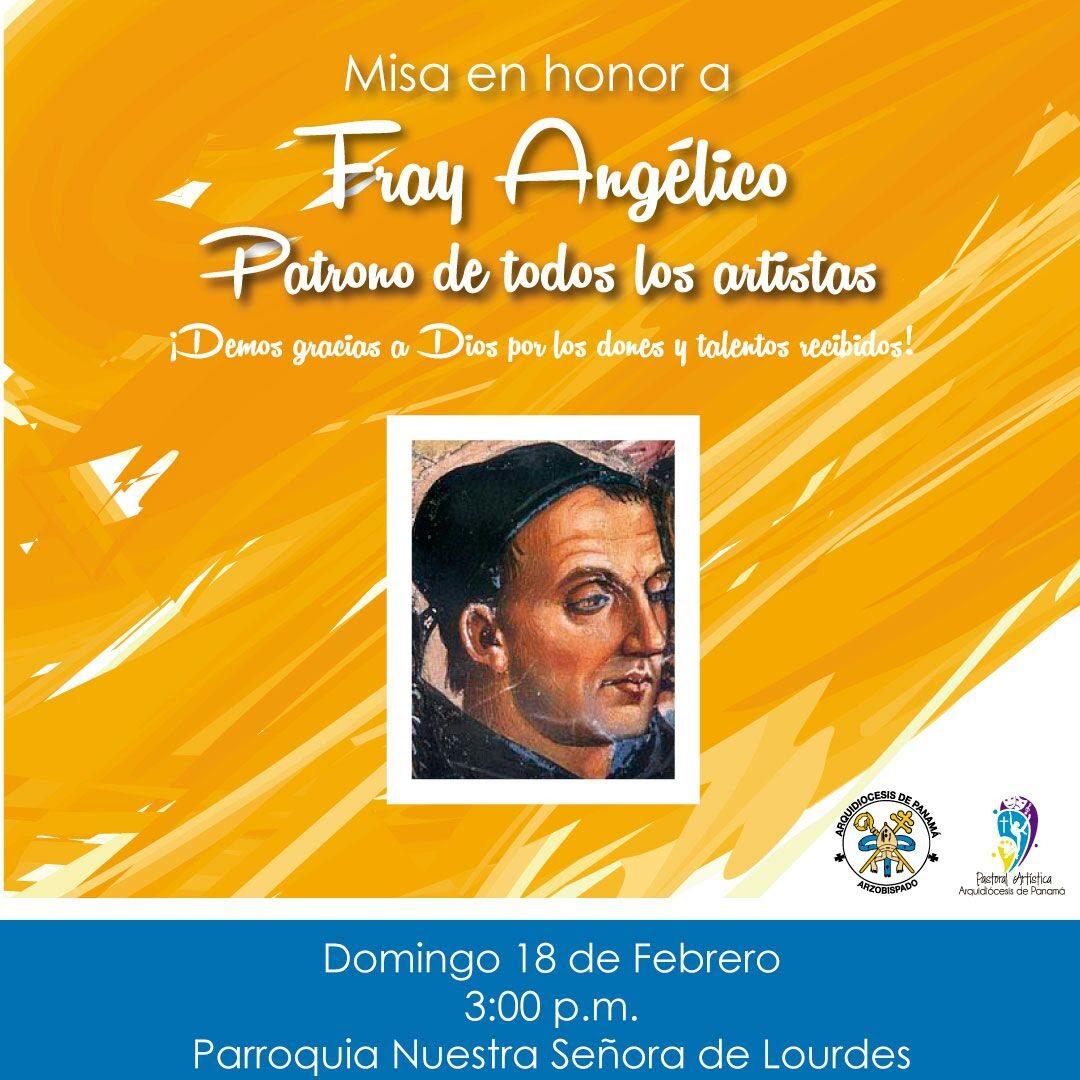 Misa en Honor al Beato Fray Angélico - Patrono de todos los Artistas