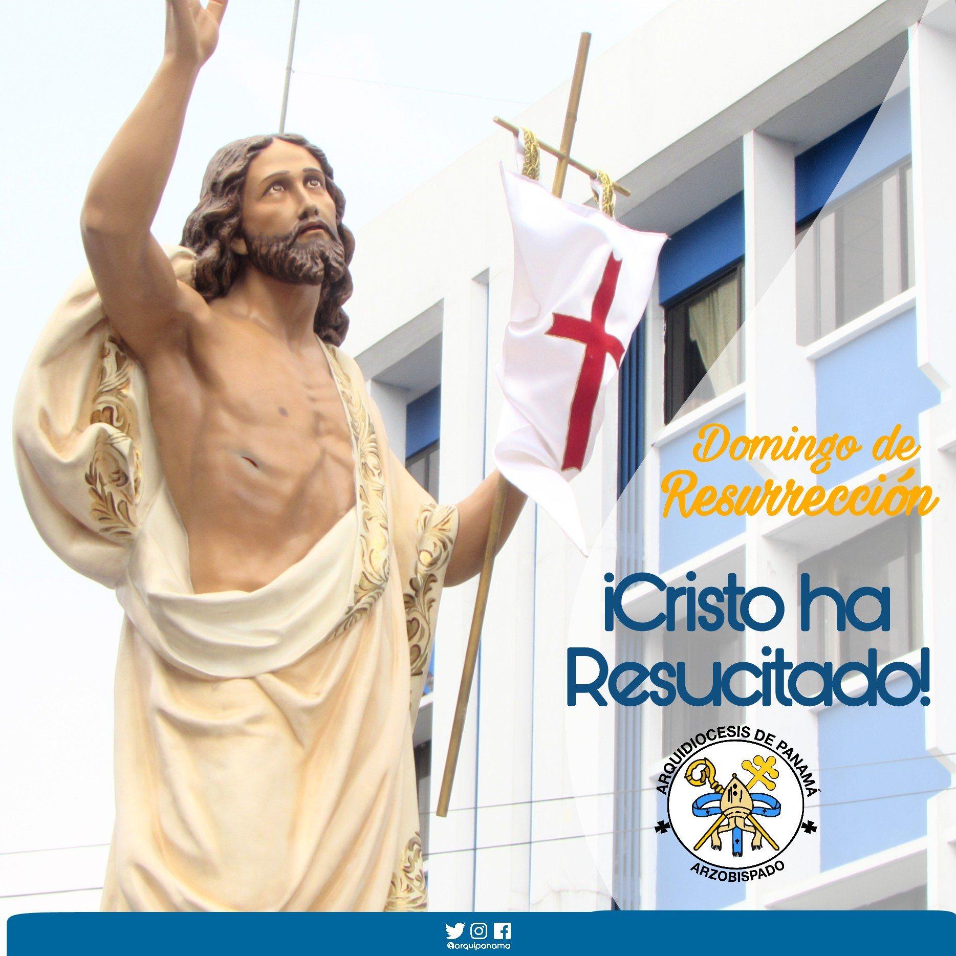 ¡Cristo ha resucitado! Verdaderamente a resucitado