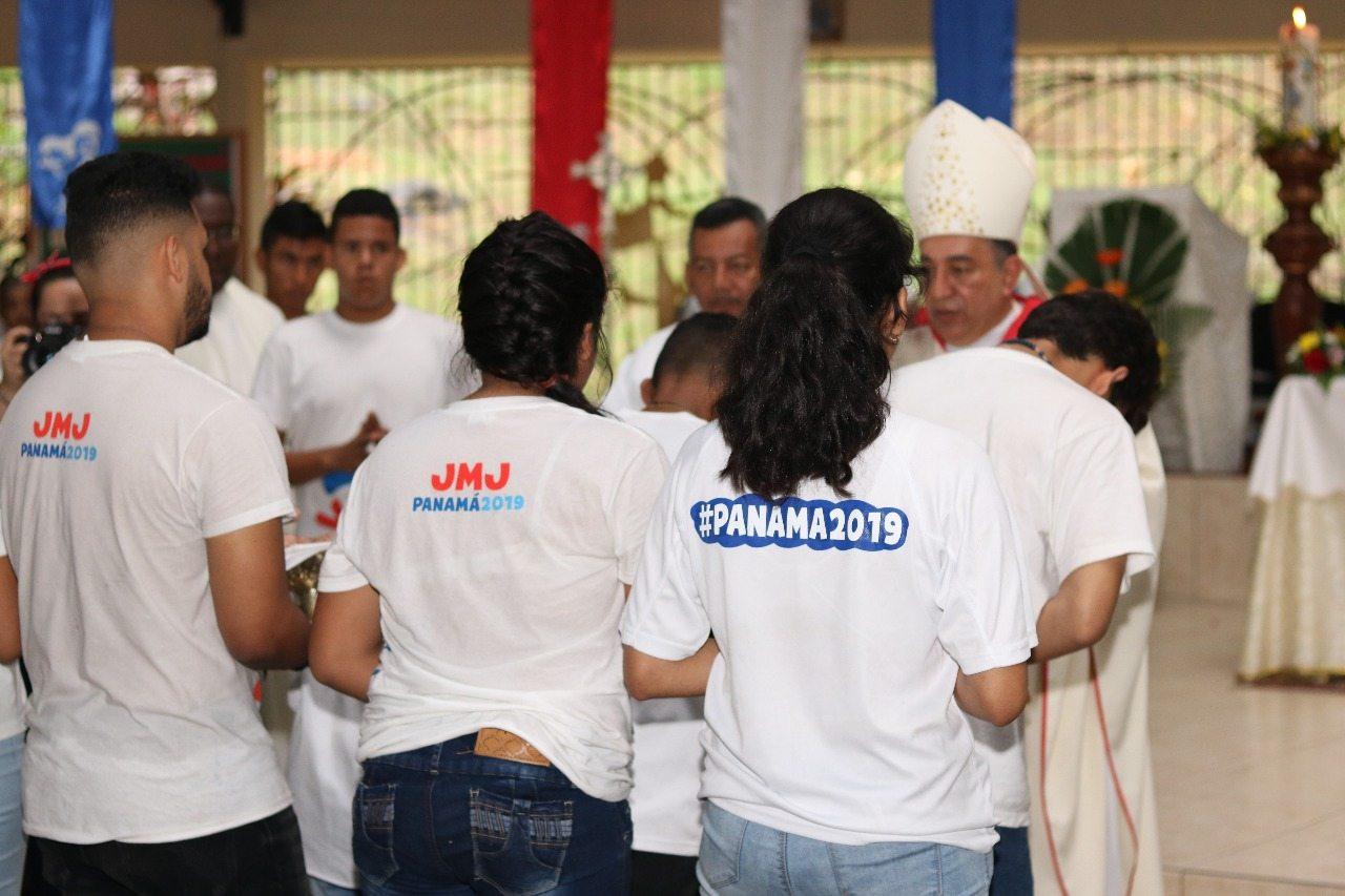 Día de Oración por la JMJ Panamá 2019llega a las periferias de San Miguelito