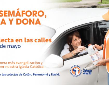 """Ola naranja"" de Campaña Arquidiocesana  se toma las calles para calentar motores"
