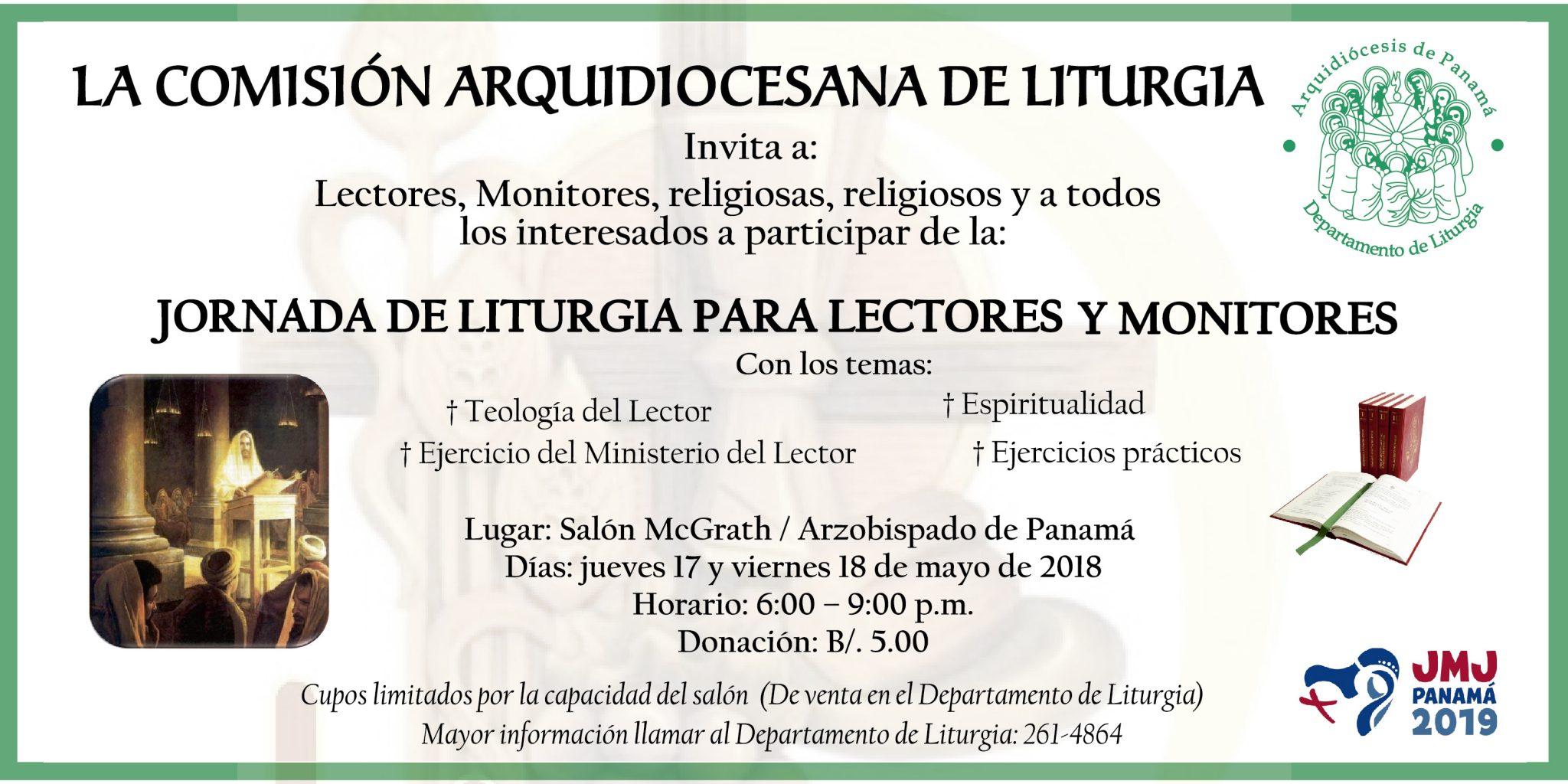 Jornada de Liturgia para lectores y Monitores