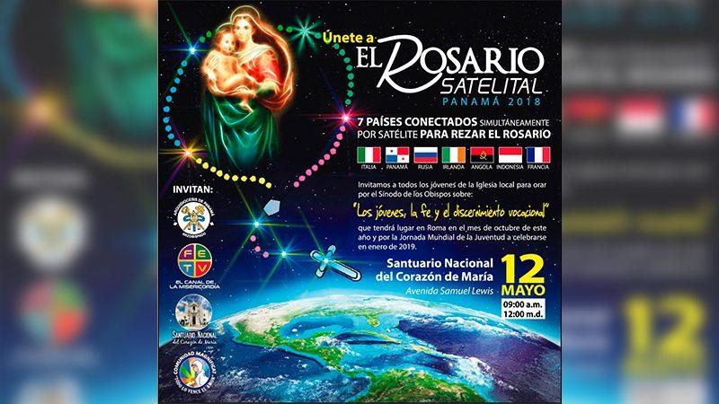 Un Rosario Satelital para orar por la paz y la JMJ