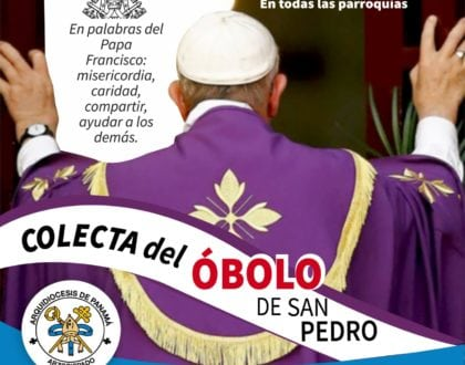 """Obras del Papa son sostenidas por  los fieles católicos con el """"Óbolo de San Pedro"""""""