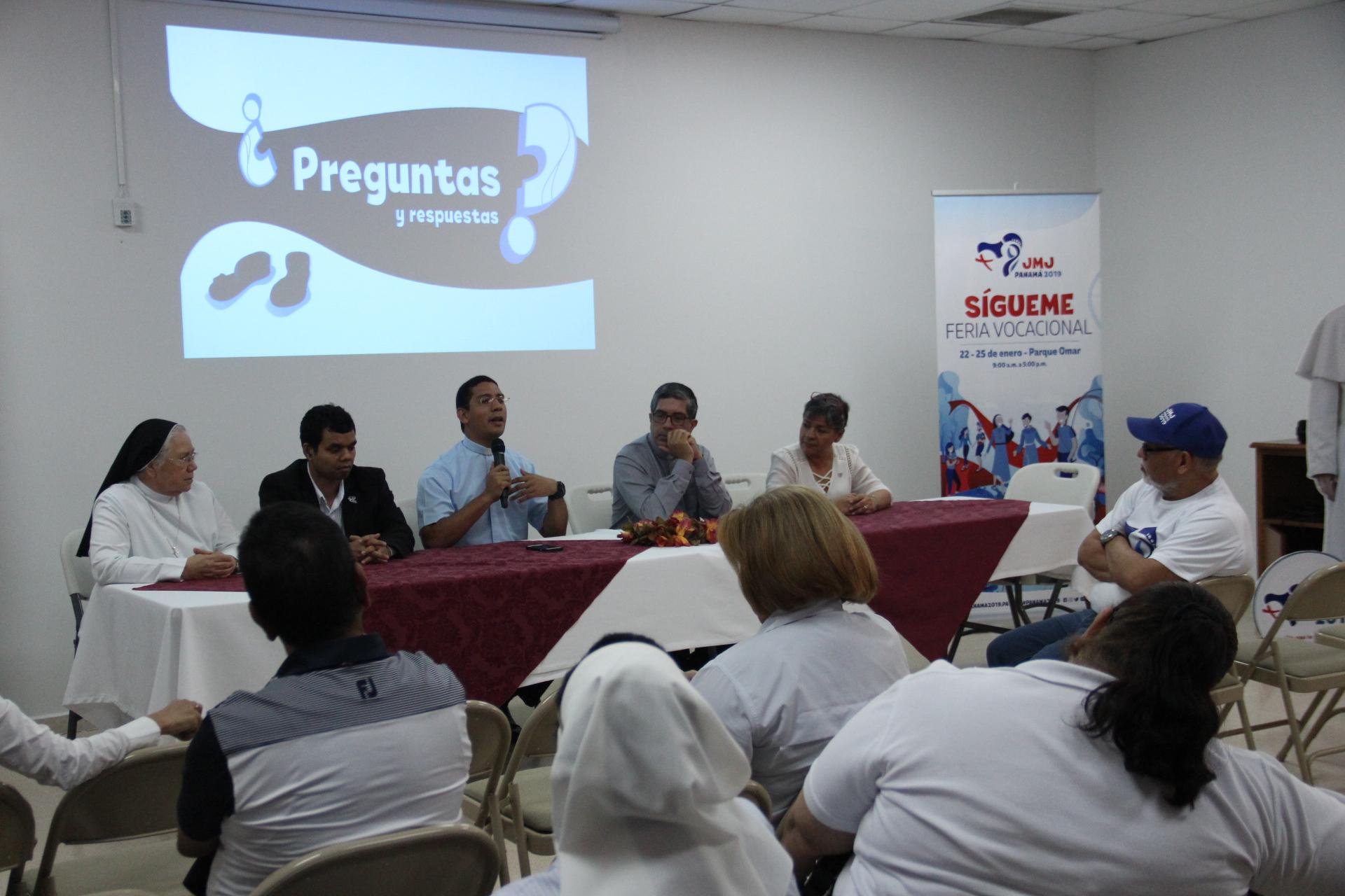 Presentación de la Feria Vocacional y el Parque del Perdón