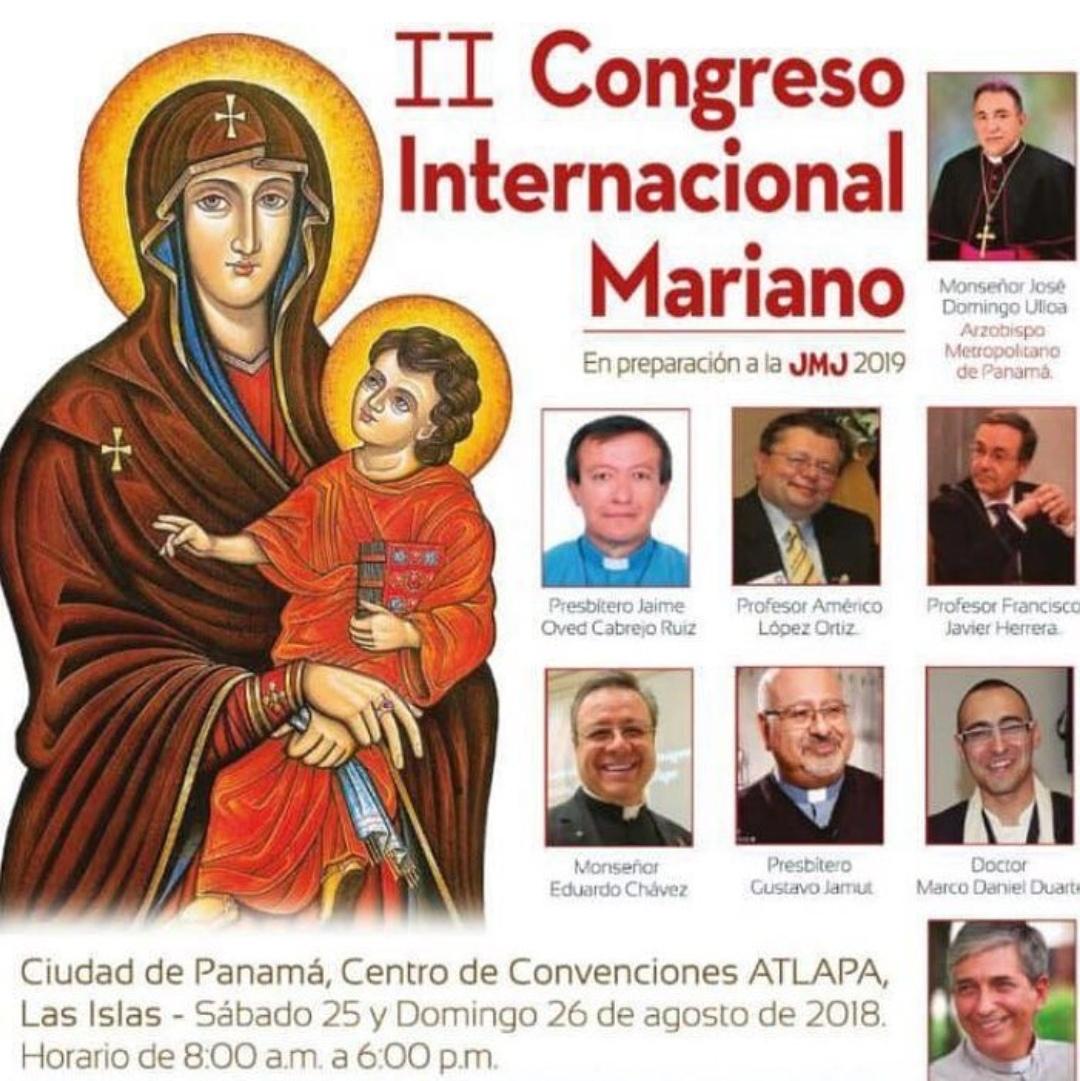 Apertura de II Congreso Internacional Mariano