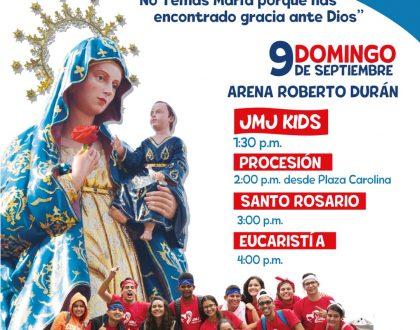 9 de Septiembre: Solemnidad de Santa María La Antigua