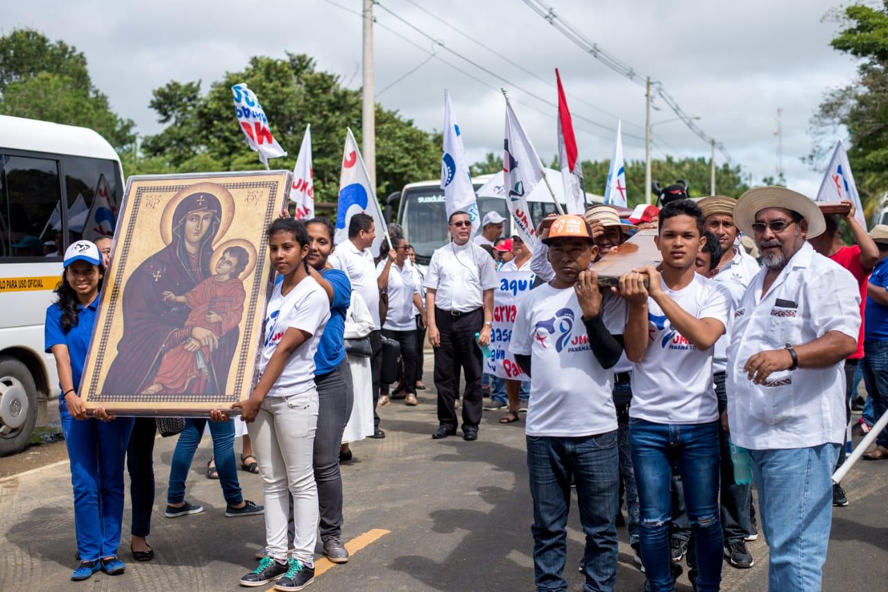 Símbolos de la JMJ visitarán Venezuela en el mes de noviembre