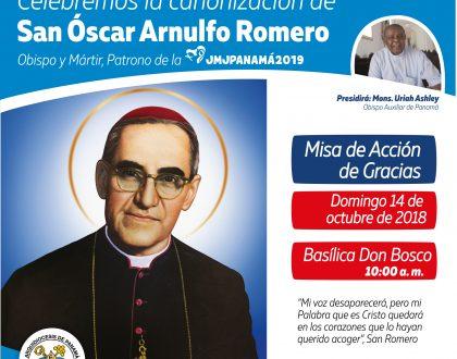 Canonización del Beato Óscar Arnulfo Romero