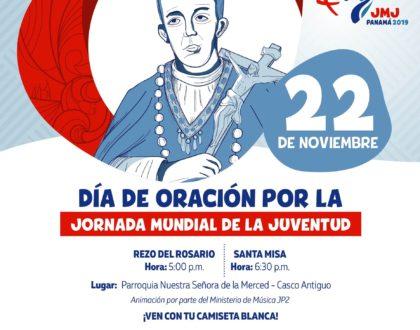 Oración por la Patria y por la JMJ en La Merced