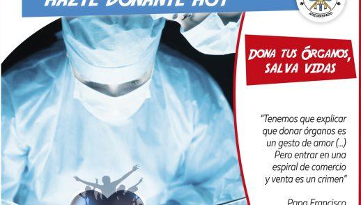 Mensaje en la Semana de Promoción de la donación de órganos