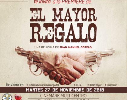 """""""El Mayor Regalo"""" nos mueve  al perdón y la misericordia"""