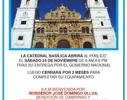 La Catedral Basílica abre sus puertas