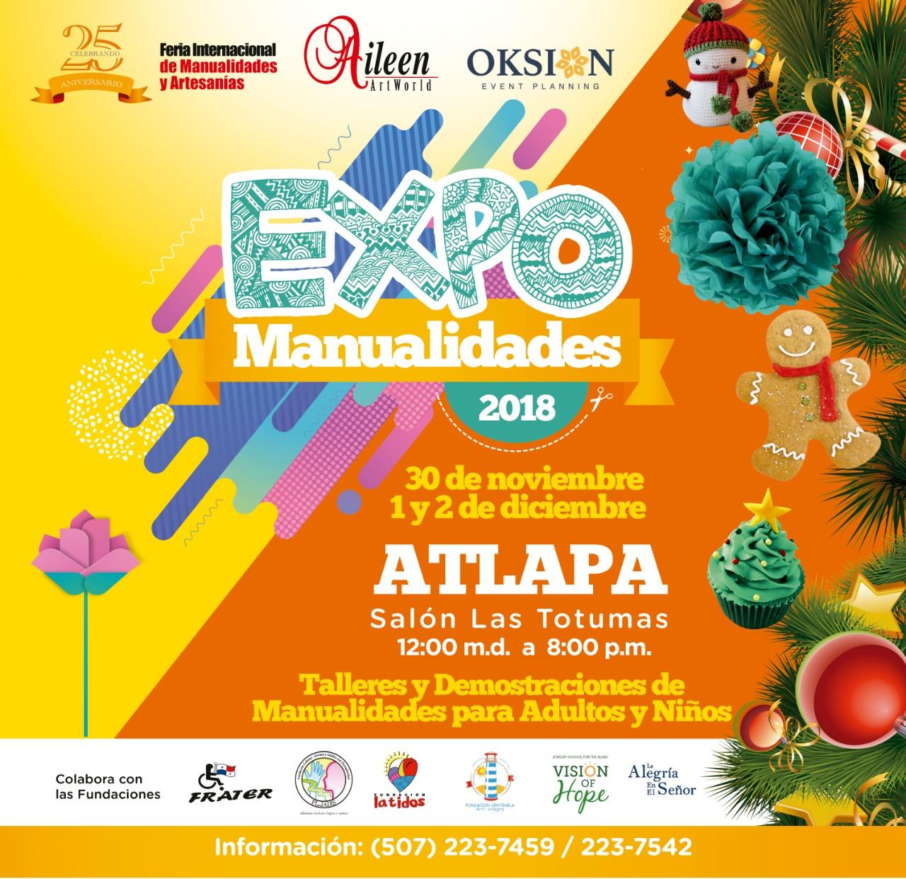 Expo Manualidades 2018 celebra 30 años con 200 artesanos