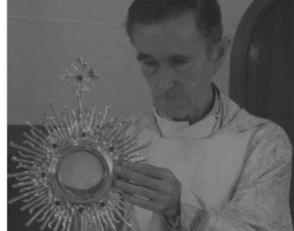 Paz al alma de Fray Francisco Javier Arteta