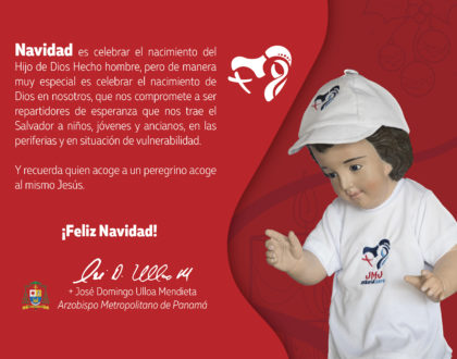 Mensaje de Navidad del Arzobispo de Panamá