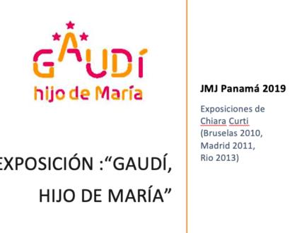 Gaudí llega a la JMJ Panamá 2019