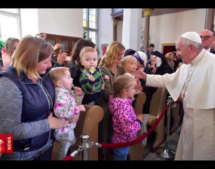 Las 4 preocupaciones del Papa en el 2018