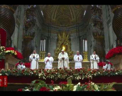 «Vayamos, pues, a Belén» (Lc 2,15): así lo dijeron y lo hicieron los pastores. Papa Francisco