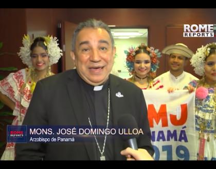 Panamá participa en ceremonias papales, para marcar el fin de preparativos de la JMJ