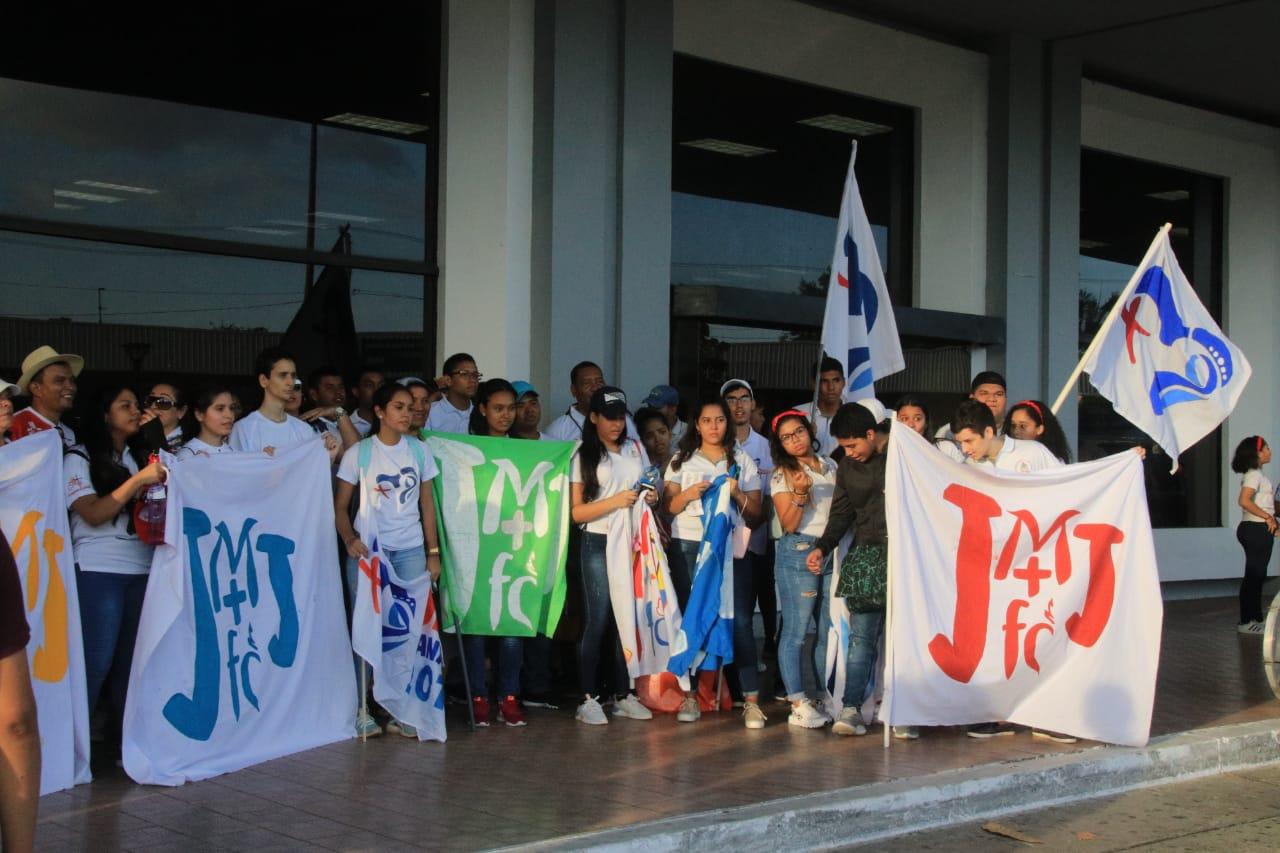 Jóvenes se unen en Día de Oración por la JMJ